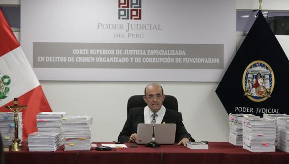 Víctor Zúñiga Urday fue quien evaluó el pedido de prisión preventiva por 18 meses contra Keiko Fujimori. (Foto: GEC)