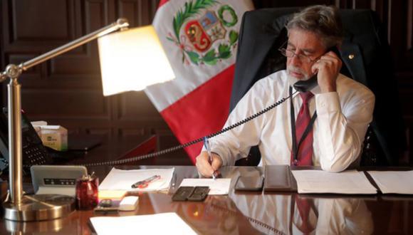 """El jefe de Estado señaló que coinciden en la """"necesidad de profundizar nuestros esfuerzos conjuntos y multilaterales para enfrentar la crisis política, económica y humanitaria de Venezuela"""""""