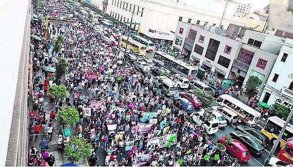 Día Internacional de la Mujer: Convocan a marcha para el jueves 8 de marzo (VIDEO)