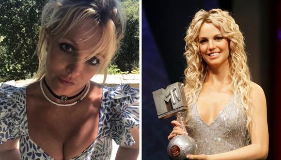 """La cantante Britney Spears señaló que en su adolescencia se sintió como un """"patito feo"""". (@britneyspears / AFP)"""
