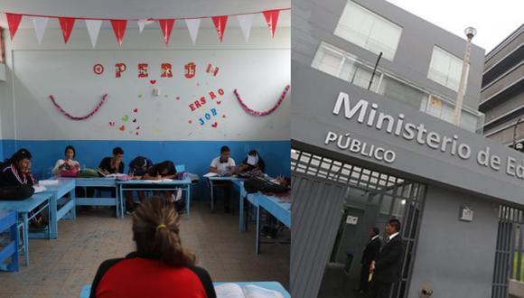 El ministro de Educación, Ricardo Cuenca, indicó que este decreto permitirá la transferencia de 134 millones de soles a gobiernos regionales para también distribuir protectores faciales a escolares. (Foto: GEC)