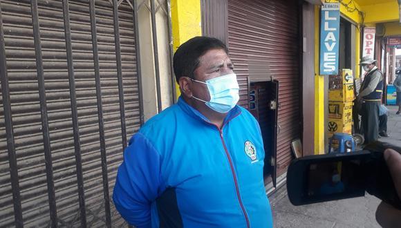 Pedro Quispe Quisocala, señaló que la actual política del Gobierno va matar de hambre al pueblo. (Foto: Difusión)