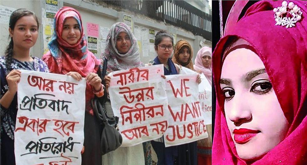 Bangladesh: Queman viva a joven que denunció acoso sexual en su escuela religiosa