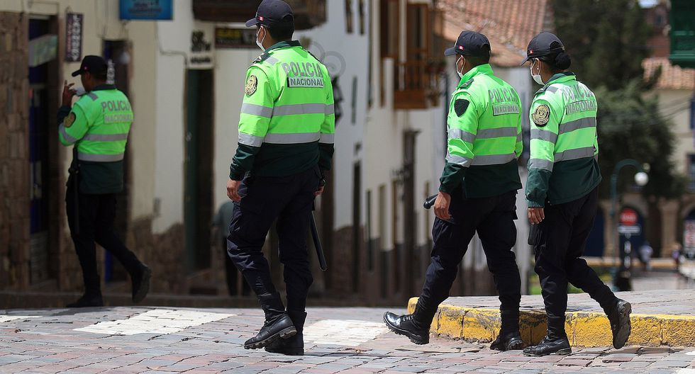 Cusco: dos policías se hallan en aislamiento preventivo por coronavirus