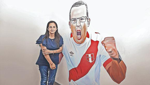 Milagros Llamosas pide respetar la imagen del periodista deportivo.