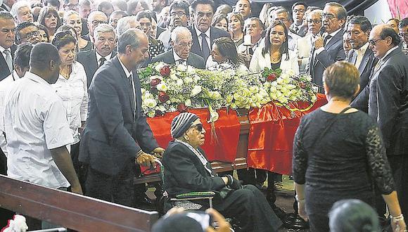 Funerales de Alan García sin honores de jefe de Estado