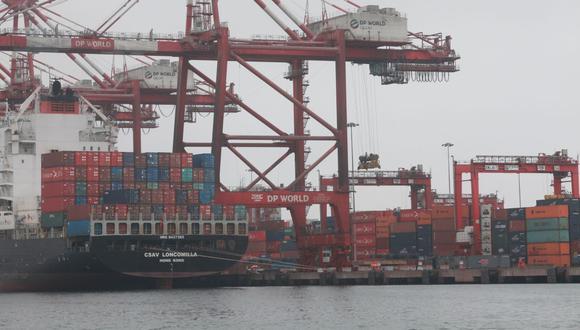 Las exportaciones de enero y febrero fueron en promedio US$ 7,390 millones, según ComexPerú. (FOTO: GEC)