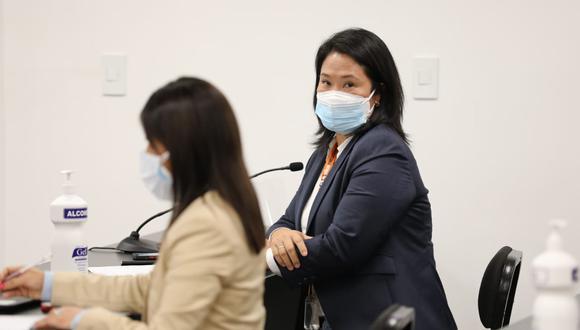 Keiko Fujimori seguirá en libertad tras decisión del juez Víctor Zúñiga. (Foto: Poder Judicial)