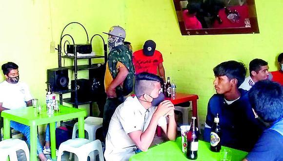 Paita: Detienen a 27 personas cuando libaban licor en un bar clandestino