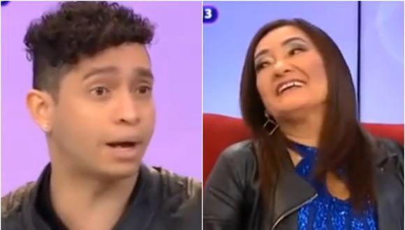 Pareja de Flor de Huaraz es un joven de 26 años. (Fuente: ATV)