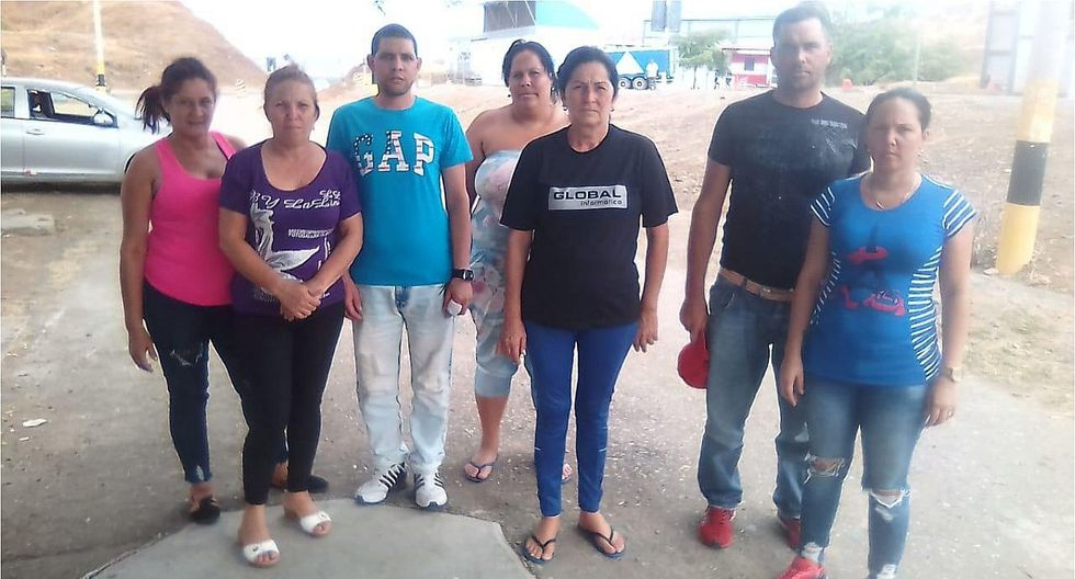 Siete cubanos fueron detenidos por intentar ingresar ilegales al Perú