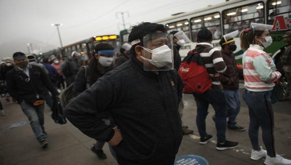 El Minsa actualizó las cifras de contagios y fallecidos por COVID-19. (Foto: Joel Alonzo/GEC)