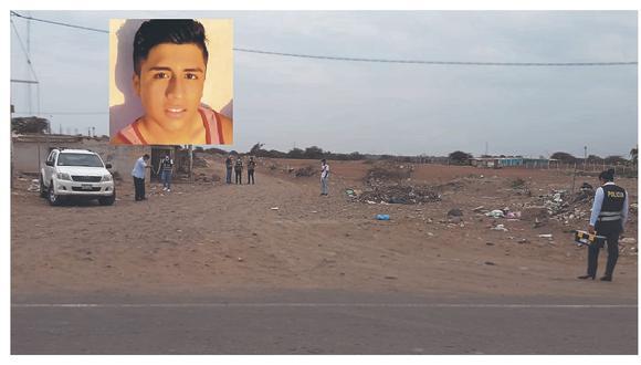 La víctima llamó a su hermano de madre para que lo auxilie y lo lleve al hospital, puesto que estaba muy mal herido.