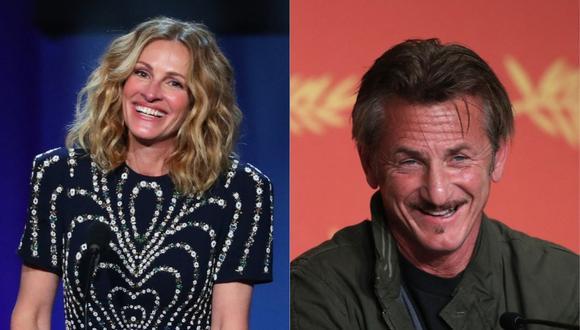 Julia Roberts y Sean Penn trabajarán juntos en serie sobre el escándalo Watergate. (Foto: AFP- Jean-Baptiste LACROIX/Laurent EMMANUEL)