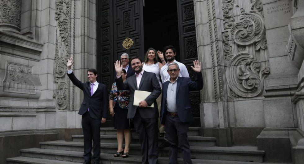 Presidente Martín Vizcarra se reúne con los virtuales congresistas del Partido Morado (Alessandro Currarino/GEC)