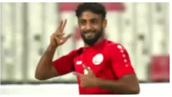 El sorprendente gol de 'chalaca' convertido por Yemen en las Eliminatorias al Mundial de Catar 2022 (VIDEO)