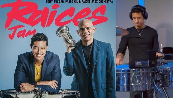 """""""Nuevo Video """"Raices JAM"""" del disco @raicesjazzorchestra ya salió"""", escribió Tony Succar en Instagram."""