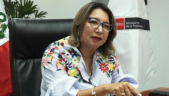 """Rocío Barrios tras negación de confianza al Gabinete: """"No podemos hacer acuerdos bajo la mesa"""". (Foto: GEC)"""