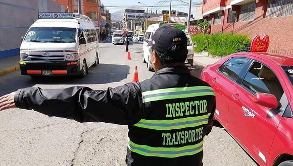 Suspenden el servicio de transporte urbano en la provincia de Puno