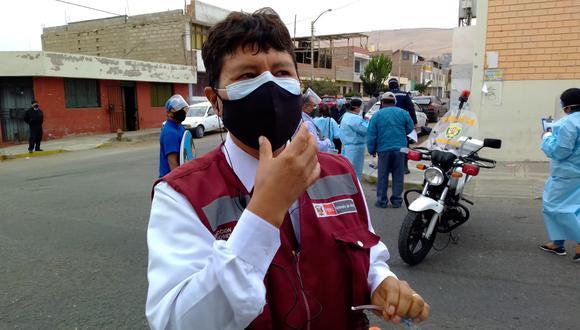 El subprefecto del distrito, Gonzalo Cahuana, indicó que han tratado el tema de la inseguridad en las reuniones del Codisec. (Foto: Adrian Apaza)