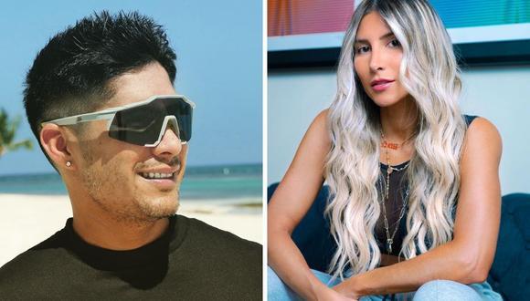 Chyno Miranda y Natasha Araos dieron en redes sociales su emotivo testimonio por la salud del cantante. (Foto: Instagram  @chynomiranda @tashi_net)