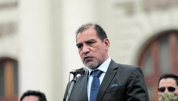 Luis Barranzuela ejerció como abogado de Vladimir Cerrón y Perú Libre en la investigación por lavado de activos. (GEC)