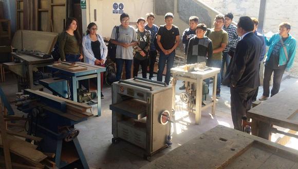 Jóvenes pueden inscribirse hasta el 18 de setiembre para estudiar en la Escuela Taller de Arequipa