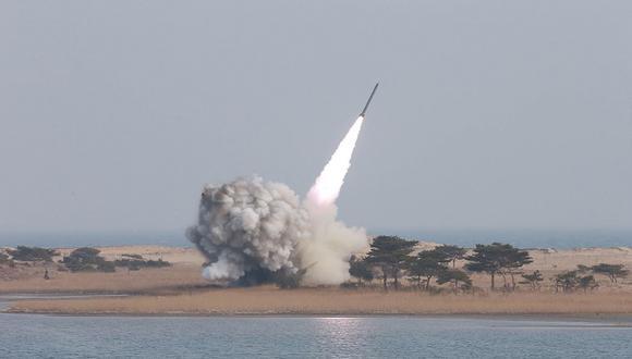 Corea del Norte vuelve a lanzar misiles hacia el mar de Japón