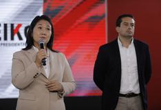 """Keiko Fujimori: """"El presidente Sagasti no debe interferir"""""""
