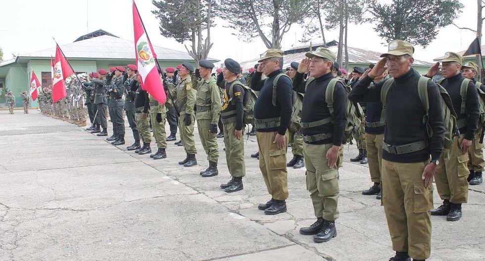 Ejército Peruano conmemora los 25 años de las Operaciones Militares en el Alto Cenepa.
