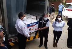 Llega segundo lote de vacunas contra el covid a Huánuco