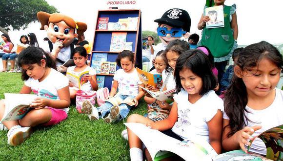 La Feria del Libro Ricardo Palma, en su edición 42, nos trae una magnifica lista de libros infantiles. (Foto: Andina)   Referencial