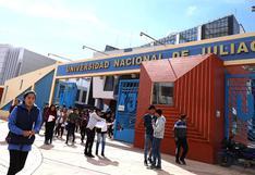 Juliaca: UNAJ prepara tres exámenes de ingreso en modalidad virtual