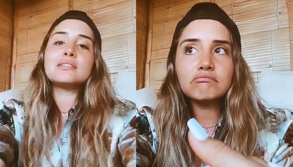 Ximena Hoyos se defendió de las críticas. (Instagram)