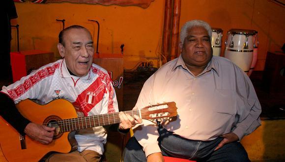 "Arturo ""Zambo"" Cavero y Oscar Avilés. Lima, 2004 (Foto: GEC Archivo)"