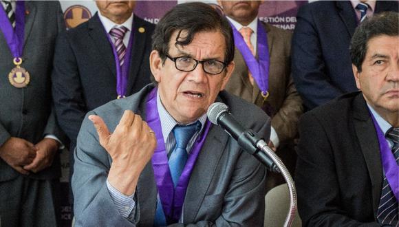 Colegio Médico del Perú (CMP) señala que el vicedecano de la institución, Ciro Maguiña estará aislado hasta obtener los resultados oficiales.