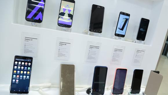 A comparación del 2019, las importaciones de celulares decayeron. (Foto: GEC)