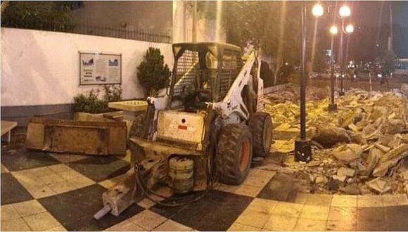 Municipio de Miraflores descarta retiro de tableros de ajedrez del pasaje Olaya