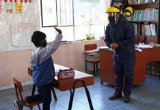 Colegio de Pachía es el primero en iniciar clases semipresenciales en Tacna