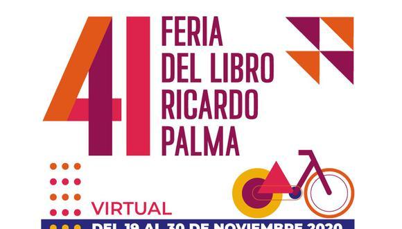 Feria del libro Ricardo Palma: Edición 2020 se realizará de forma virtual. (Foto: @feriaricardopalma)