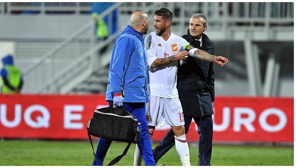 Real Madrid: Sergio Ramos estaría fuera seis semanas