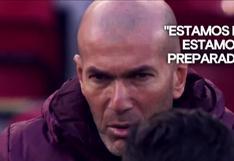 Zidane se lució con motivadora charla antes del Real Madrid-Liverpool (VIDEO)