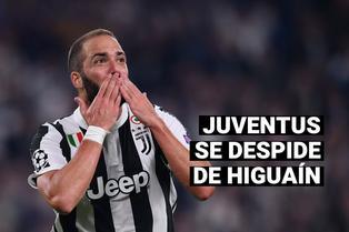 Juventus acuerda la resolución del contrato de Gonzalo Higuaín