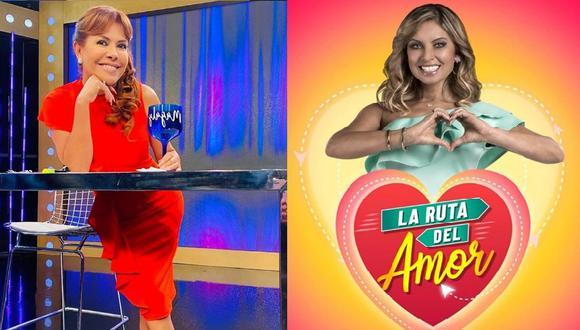 "Magaly Medina se burla de programa de Karina Rivera: ""Nadie lo ve"". (Instagram)"