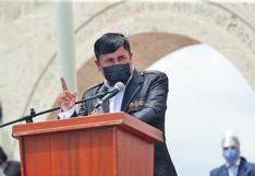 Elmer Cáceres se pronuncia contra las marchas convocadas por partidos políticos