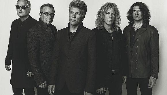 Ya están disponibles las entradas al concierto de Bon Jovi en Lima (FOTO)