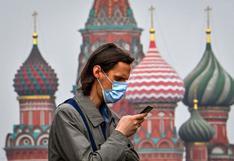 Coronavirus: Rusia reporta más de 2,4 millones de casos y 42.684 fallecidos