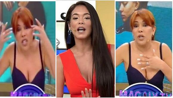 "Magaly Medina llama ""boba"" a Jazmín Pinedo tras cuestionar sus 'ampays' (VIDEO)"