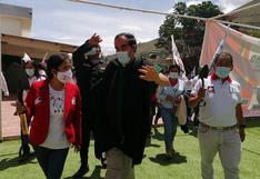 Lescano ofrece rescatar al Perú del poder de las mafias