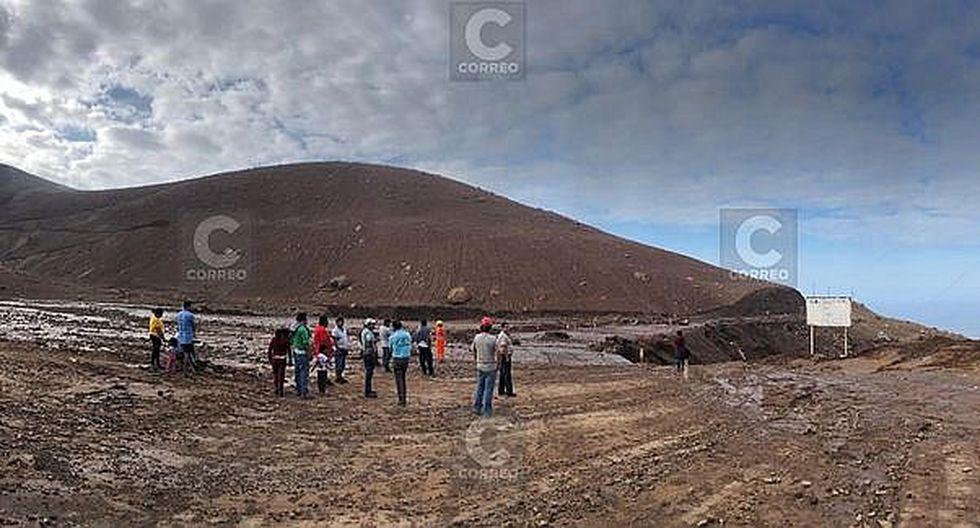 Huaico asustó a pasajeros de vehículos en la vía Costanera a Ilo (FOTOS)